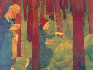 Paul Sérusier, L'incantation ou le bois sacré (musée des beaux-arts de Quimper)