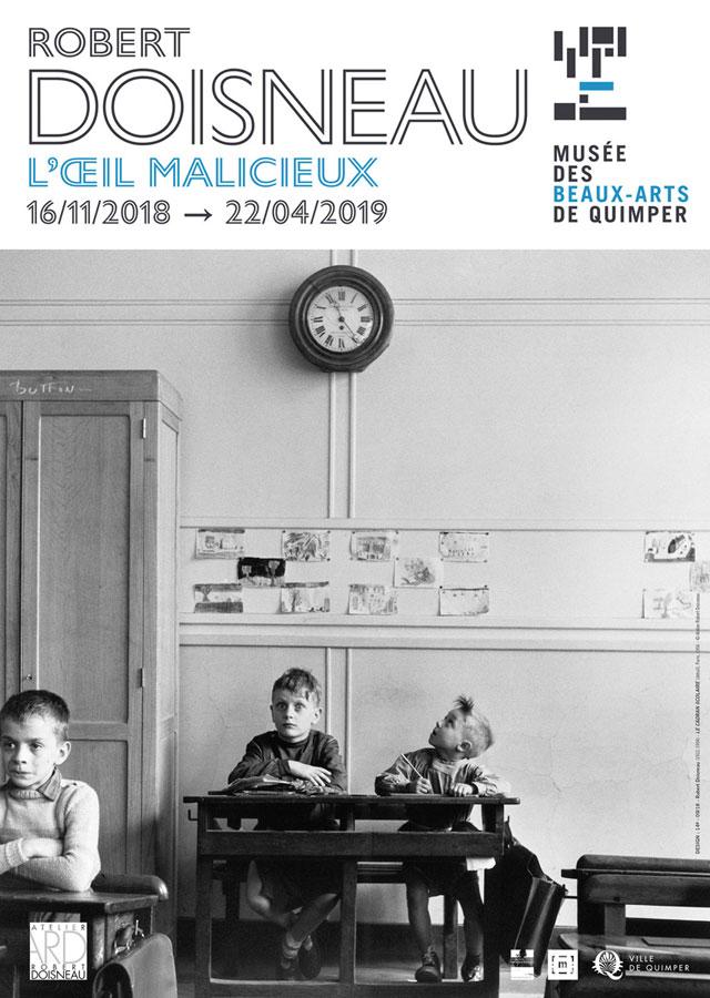 Robert Doisneau L'oeil malicieux, exposition au musée des beaux arts de Quimper