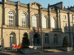 Le musée des beaux-arts de Quimper, sur la place Saint Corentin