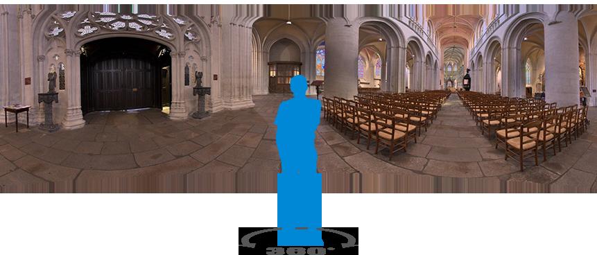 Visite virtuelle de la cathédrale Saint Corentin de Quimper