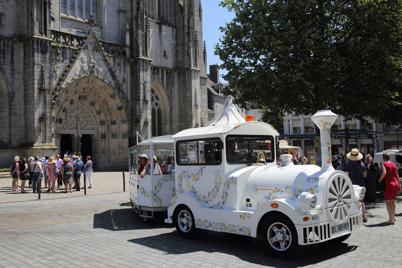 Petit train Quimper