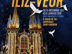 Spectacle son et lumière Iliz Veur, cathédrale Saint Corentin de Quimper