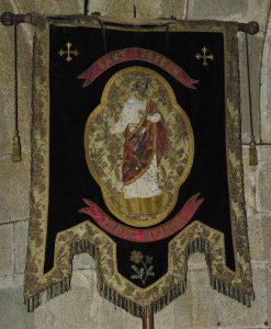 Bannière de l'église Saint Fiacre de Guengat