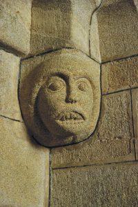 Détail de l'église Saint Fiacre de Guengat