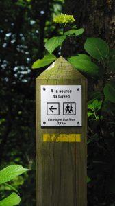 Plonéis sentier randonnée