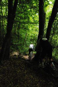 Balade à VTT au Bois du Nevet à Plogonnec