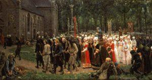 Le pardon de Kergoat, de Jules Breton, 1891 - musée des beaux-arts de Quimper