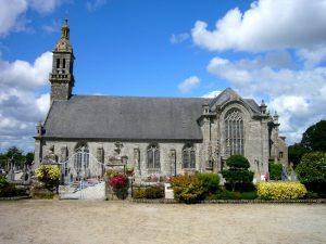 Chapelle de Kergoat sur la commune de Quéménéven