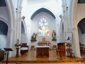 Choeur de l'église Saint Edern d'Edern