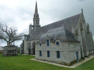 Chapelle de Kerdévot à Ergué Gabéric, sur le chemin de Saint Jacques de Compostelle