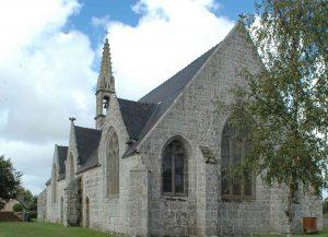 Chapelle Saint Guénolé à Ergué Gabéric sur le chemin de Saint Jacques de Compostelle