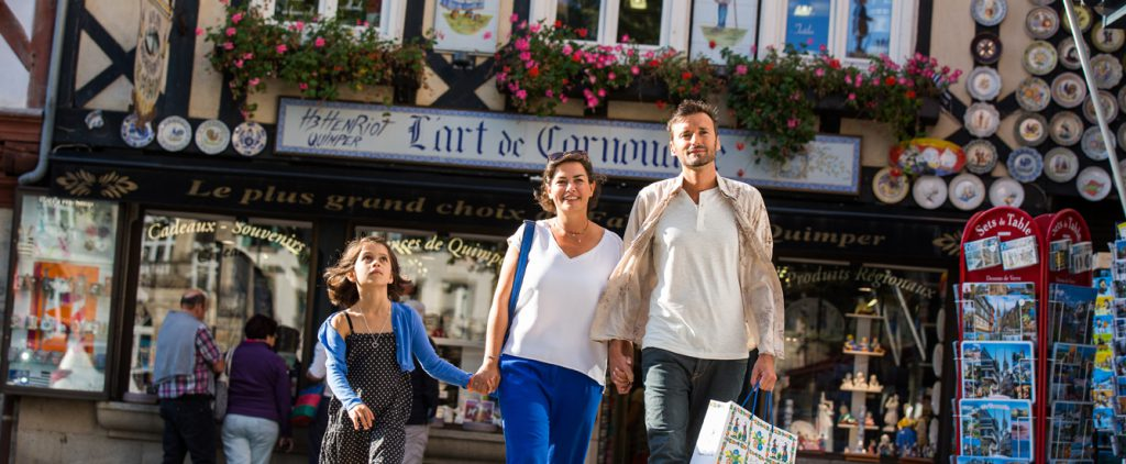 "Quimper, capitale du ""Fun shopping"""