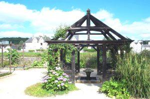 jardin prieuré Locamria Quimper
