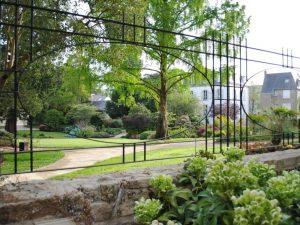 Le jardin du Théâtre Max Jacob de Quimper