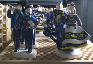 musiciens danseurs breton faience quimper