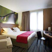 Chambre double de l'hôtel Mercure Quimper Centre