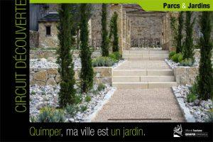 Circuit découverte sur les jardins de Quimper, Finistère, Bretagne
