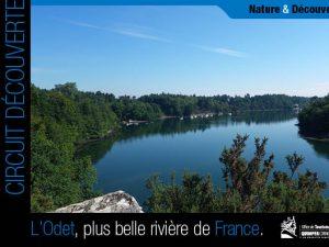 Circuit découverte de l'Odet, l'une des plus belles rivières de France, Bretagne, Finistère