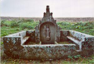 Fontaine Saint Jacques d'Ergué Gabéric