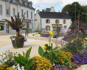 Quartier de Lestonan à Ergué Gabéric, Finistère, Bretagne