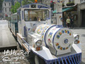 Petit train touristique de Quimper