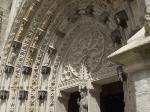 Porche de la cathédrale Saint Corentin de Quimper