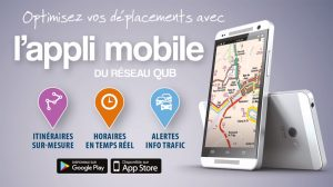Appli mobile QUB
