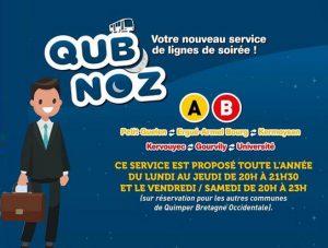 QUB service tardif
